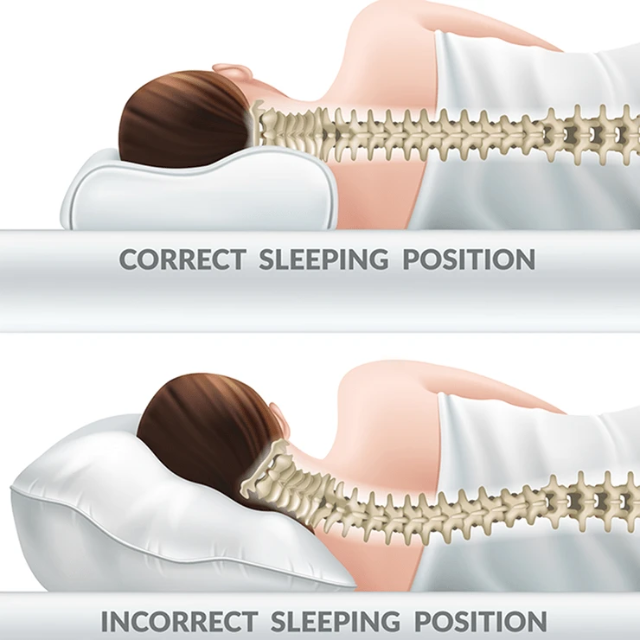FlowSleep Memory Foam Pillow - Shock-Cart.co.uk