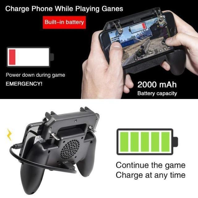 Gamepad with Integrated Power Bank - Shock-Cart.co.uk