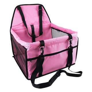 ShockCart  Pink HOLDOG™: Dog Car Seat (Portable)