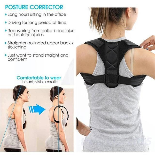 ShockCart  S INSTAPULL™: Posture Corrector (Adjustable to Multiple Body Sizes)