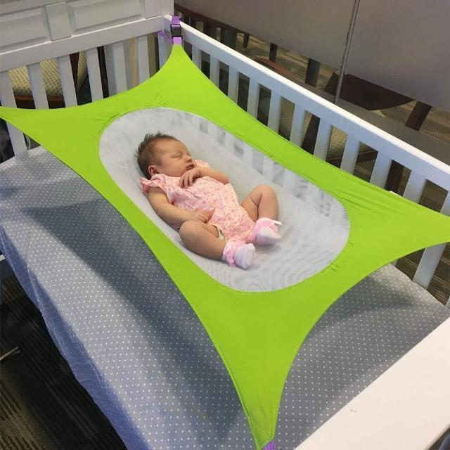 ShockCart  Green [Limited-Edition] LULABED™:  BABY LULLABY HAMMOCK