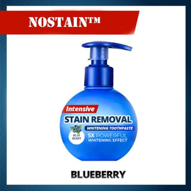 Blueberry NOSTAIN™: Natural Stain Removal Whitening Toothpaste - ShockCart