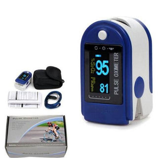 Pulse Oximeter Fingertip Blood Oxygen Saturation Oximeter(SpO2) - Shock-Cart.co.uk
