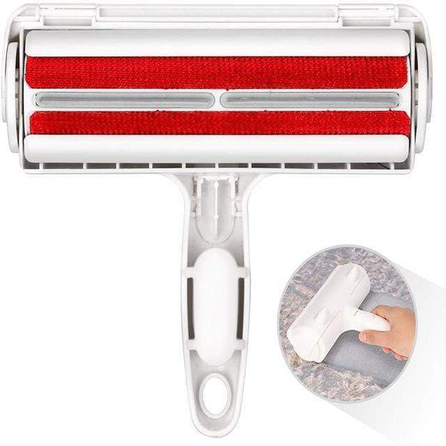 Red ROLLINT™: Pet Hair Remover Roller - Shopura