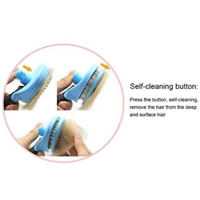 Self-cleaning Brush for Pets - Shock-Cart.co.uk