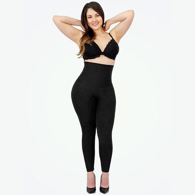 XL SILHOUETTE: High Waisted Shaping Leggings - ShockCart