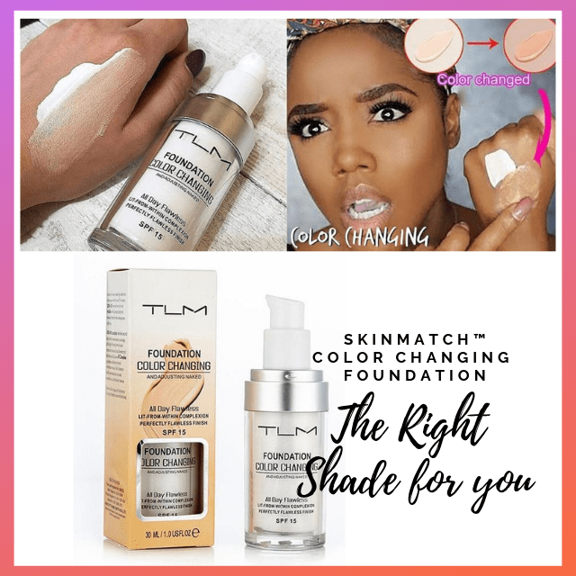 ShockCart  SKINMATCH™: PRO Flawless Color Changing Foundation