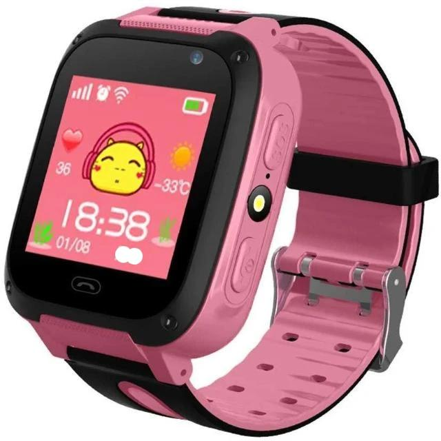 Pink Smartwatch GPS for Kids - Shock-Cart.co.uk