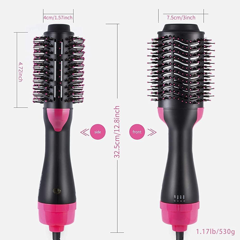 Straightening Brush and Hair Dryer in one step (3 in 1) - Shock-Cart.co.uk