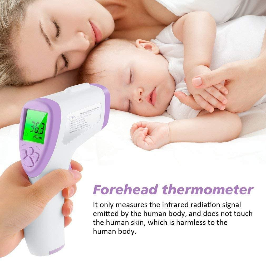 Thermometer Infrared Digital Forehead - Shock-Cart.co.uk