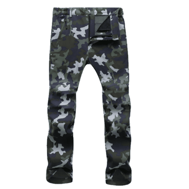 ShockCart  Men / Camouflage Army Green / S WARMINN™: Cold-Proof Winter Pants