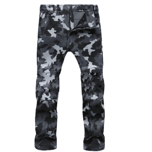 ShockCart  Men / Camouflage Gray / S WARMINN™: Cold-Proof Winter Pants