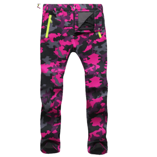 ShockCart  Women / Camouflage Rose / S WARMINN™: Cold-Proof Winter Pants
