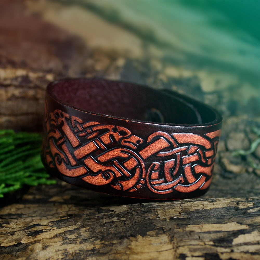 Viking Wolves Bracelet
