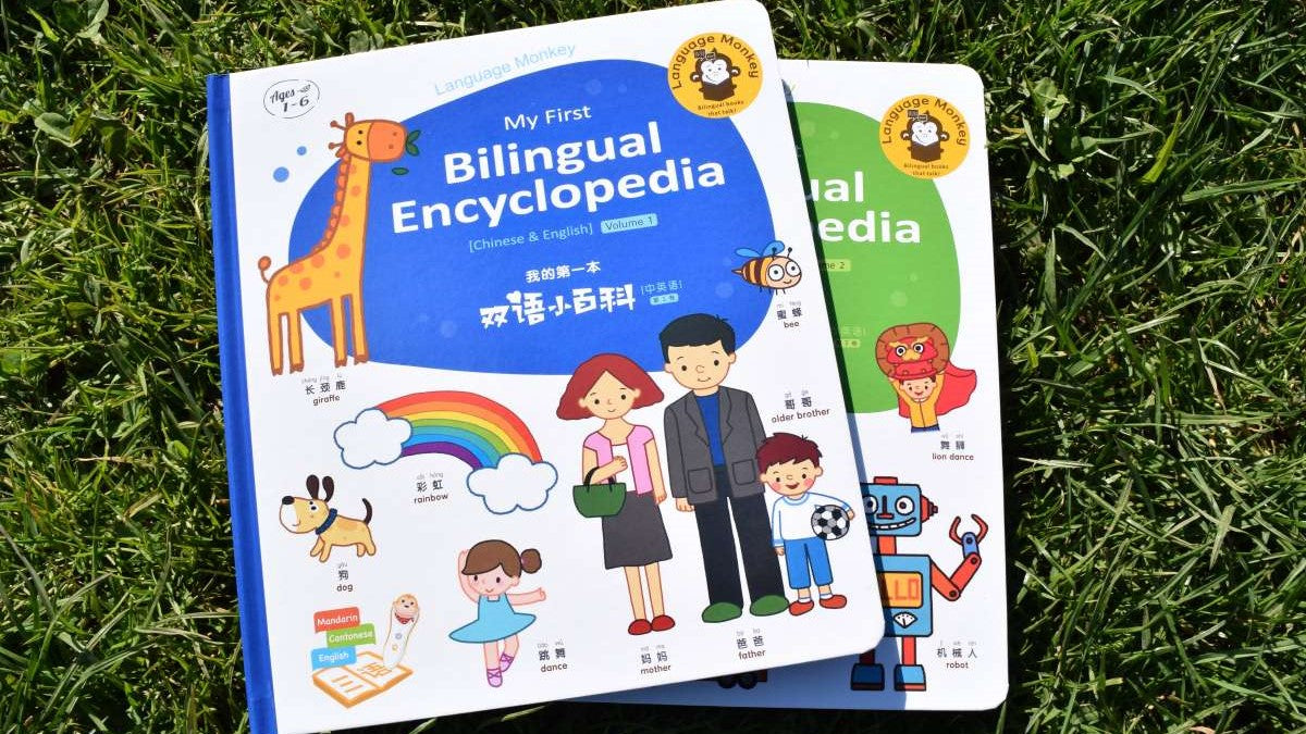 First Bilingual Encyclopedia Books only (Chinese & English) -  Language Monkey books