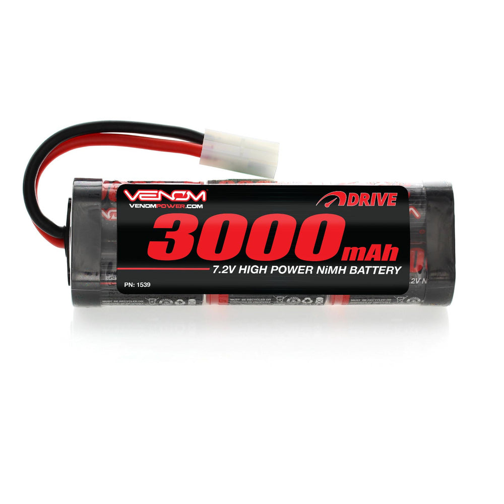 7.2 Volt 3000 mAh Rechargeable Ni-MH Battery