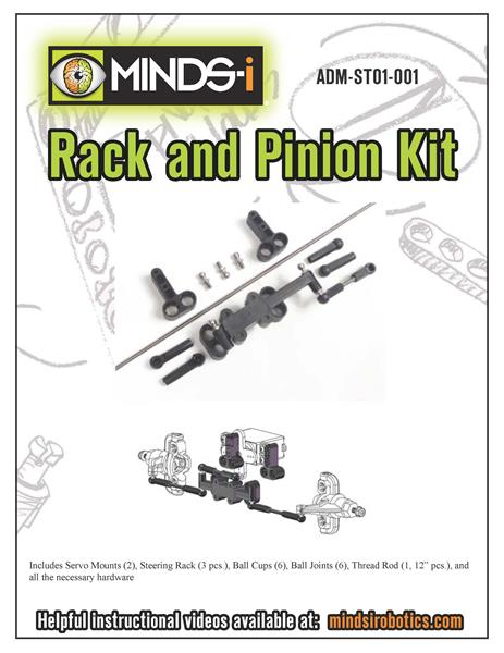 Rack & Pinion Steering Kit