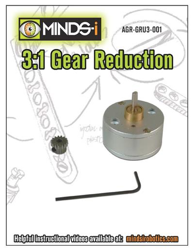 3:1 Gear Reduction Unit