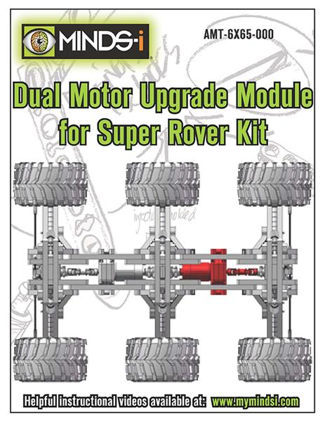 Dual Motor Upgrade Module for Super Rover Kit