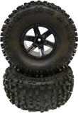 "Pro-Line Desperado 2.2"" Wheels with Badlands 2.2"" Tires 1-Pair"