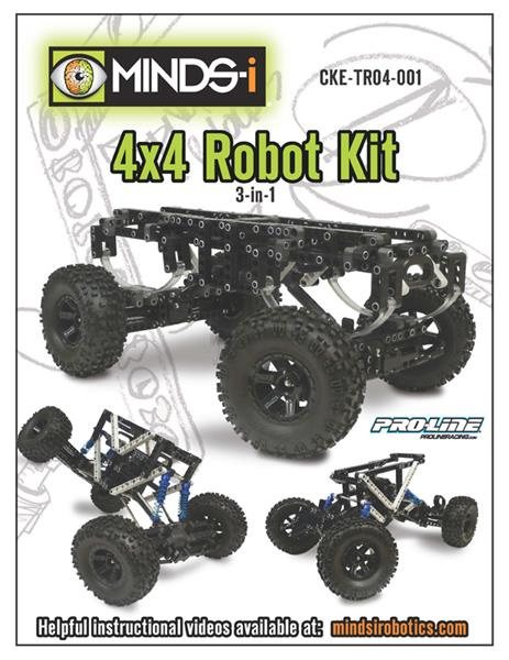 4x4 Robot 3-in-1 Instruction Cover