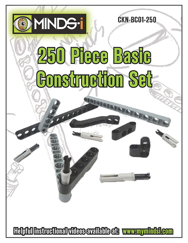 250 Piece Basic Construction Set