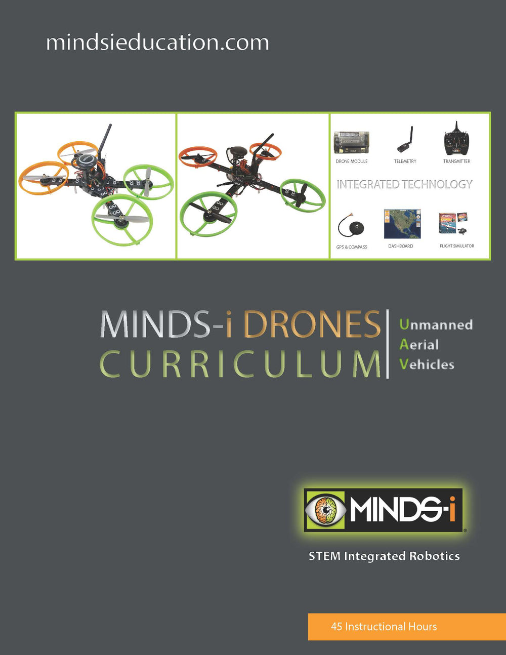 STEM Robotics UAV Drones Curriculum (45 Hour)