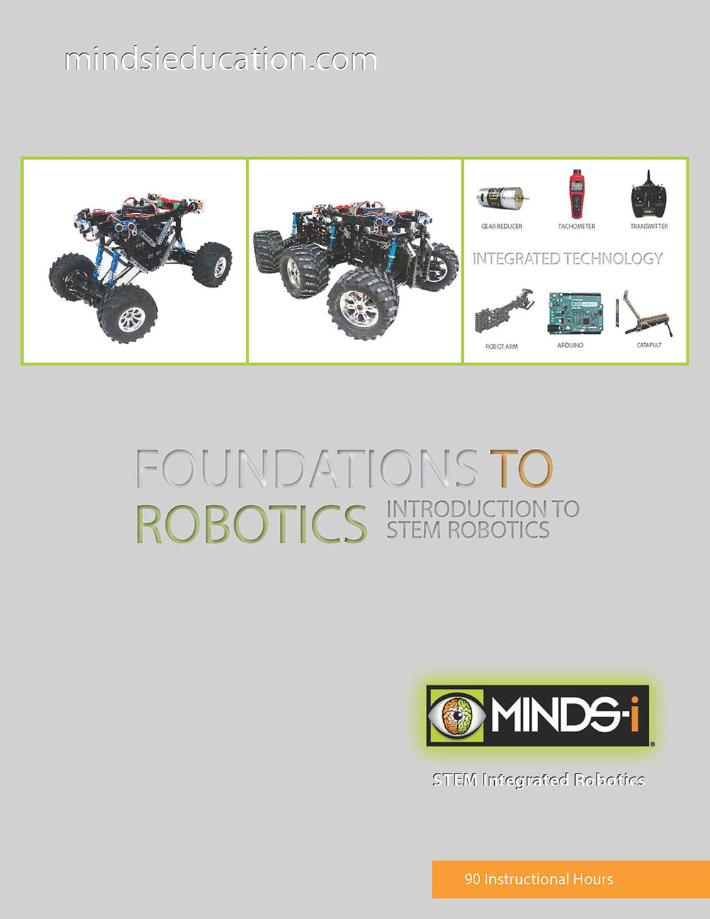 STEM Robotics Foundations Curriculum (90 Hour)