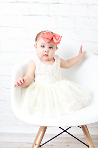 Chelsea Baby Dress with Bloomer