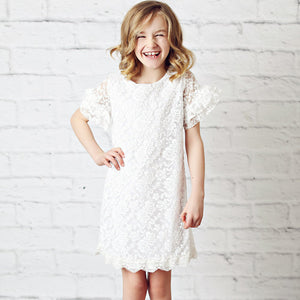 White Carley Dress