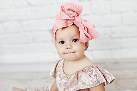 Pink Head Bow