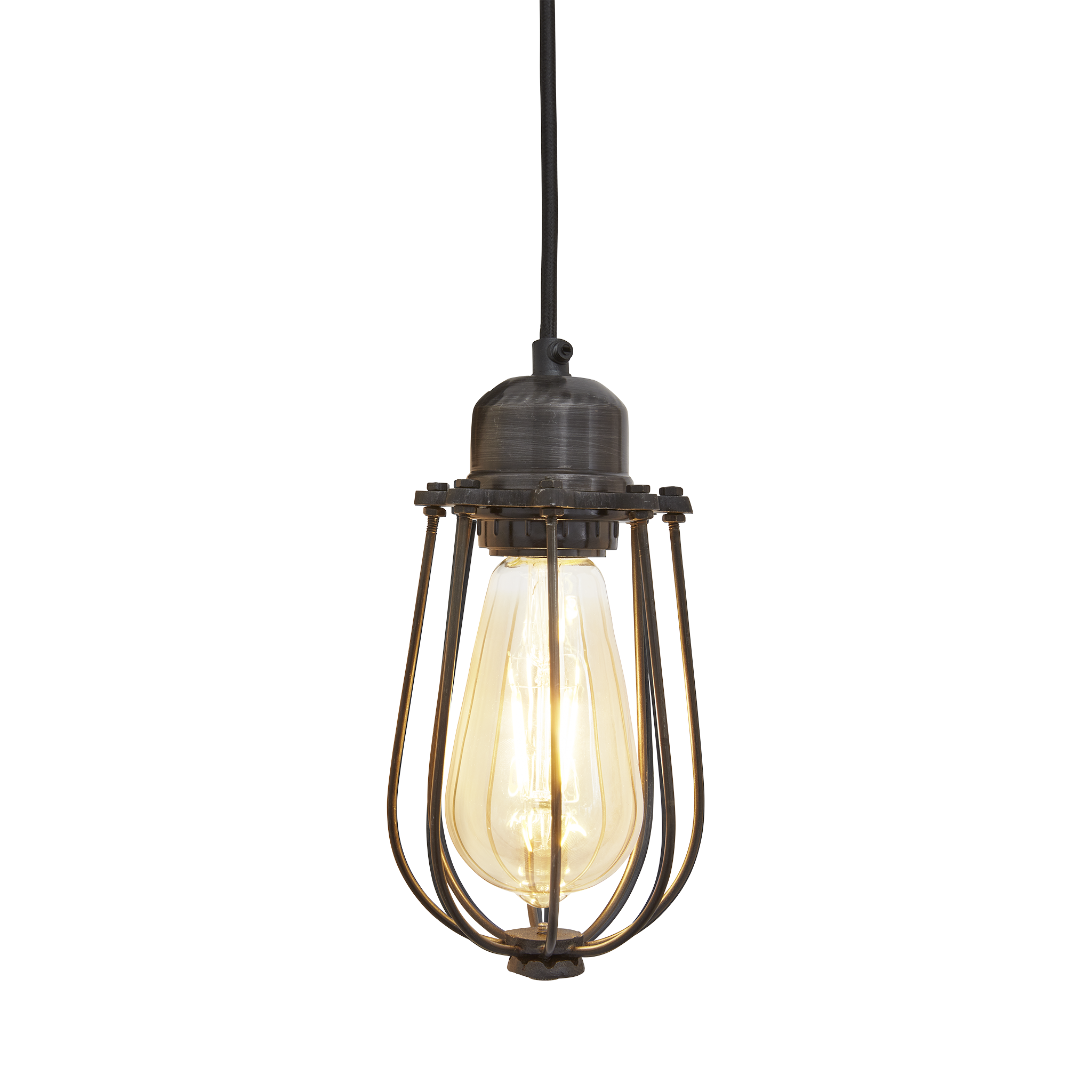 Orlando Wire Cage - 4 Inch - Lighting - Industville