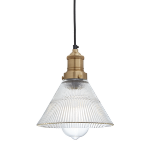 7 Inch Glass Funnel - Lighting - Industville