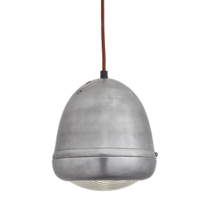 Bulkhead Motorcycle Pendant - 6 Inch - Gunmetal - Lighting - Industville