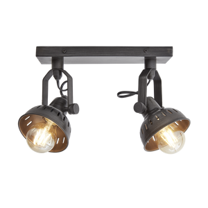 Swivel Spotlight Double - Lighting - Industville