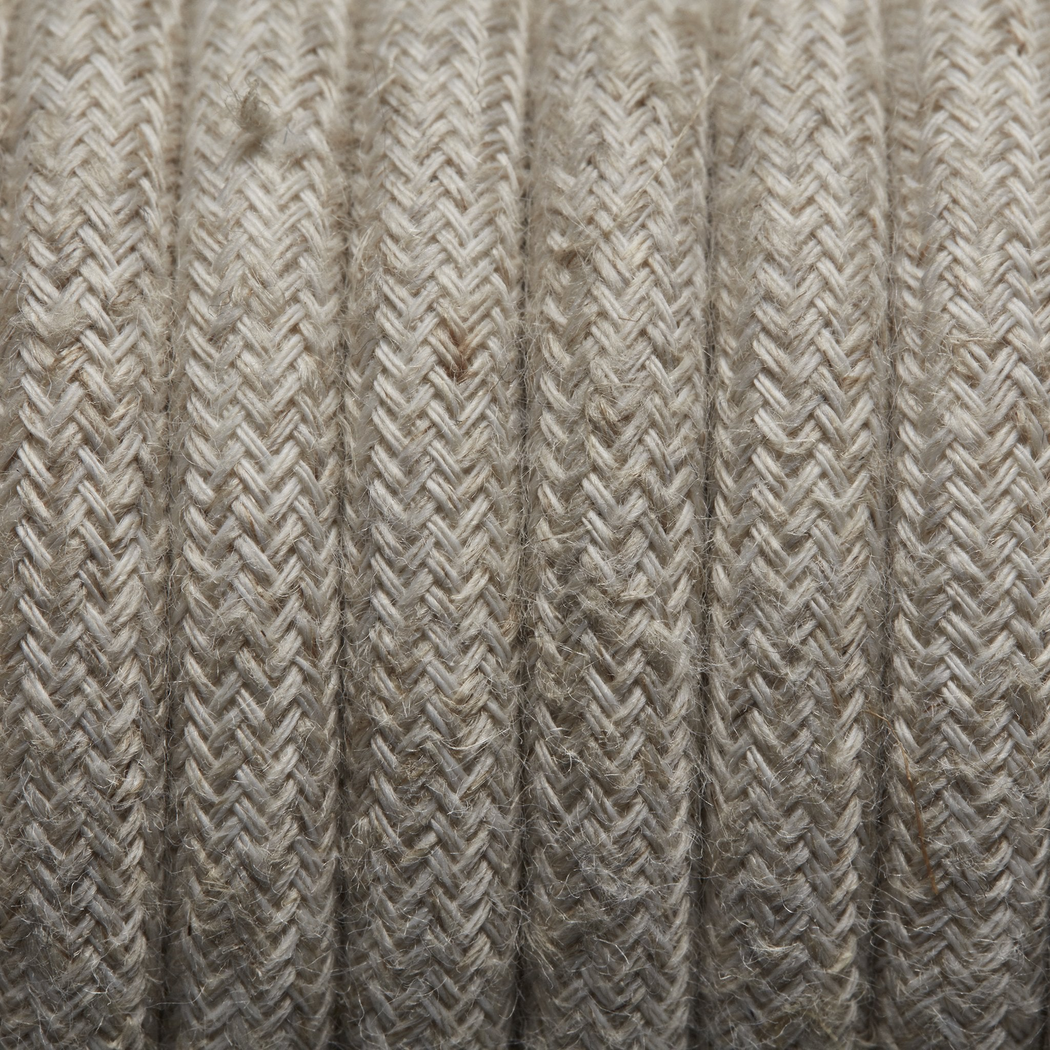 Fabric Flex - 3 Core Braided Cloth Cable Lighting Wire - Per Metre - Lighting Accessories - Industville