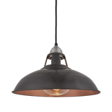 15 Inch Old Factory Slotted HEAT Pendant - Lighting - Industville