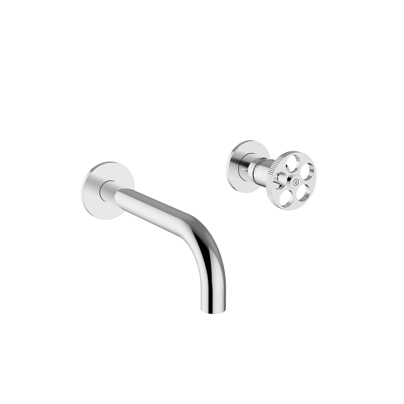 P1-BW02 Two Hole Wall Mounted Basin Mixer - Taps - Program One