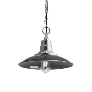 14 Inch Retro Enamel Pendant - Lighting - Industville