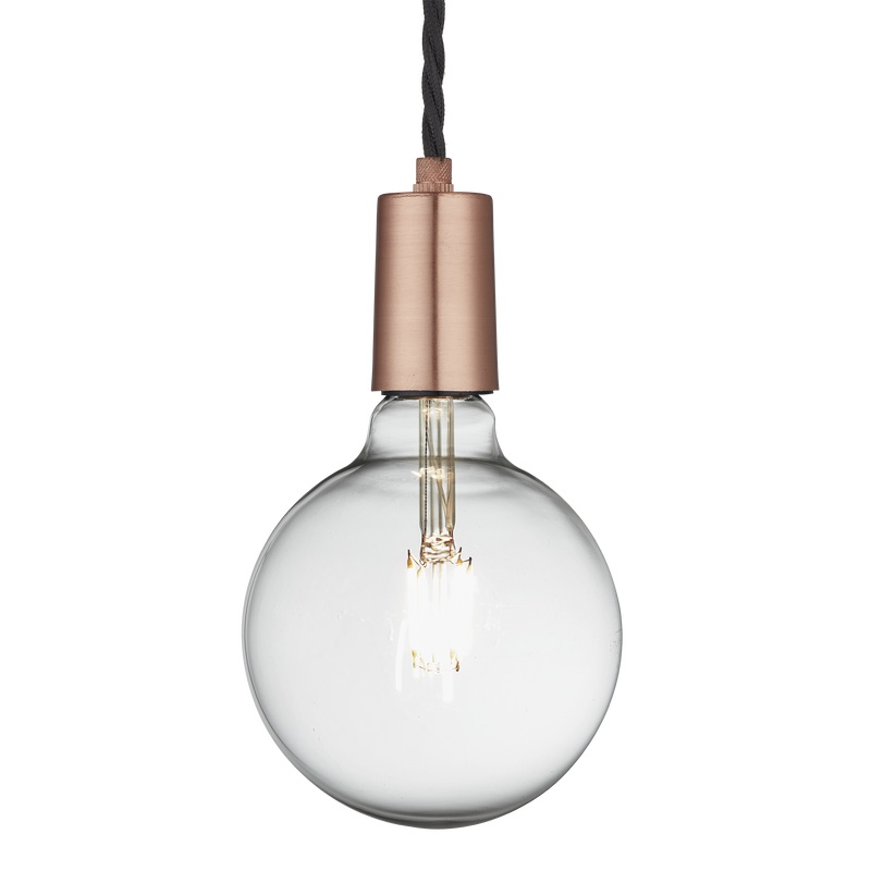 Sleek Edison Pendant - 1 Wire - Lighting - Industville