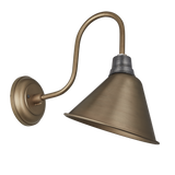 8 Inch Cone Swan Neck - Lighting - Industville