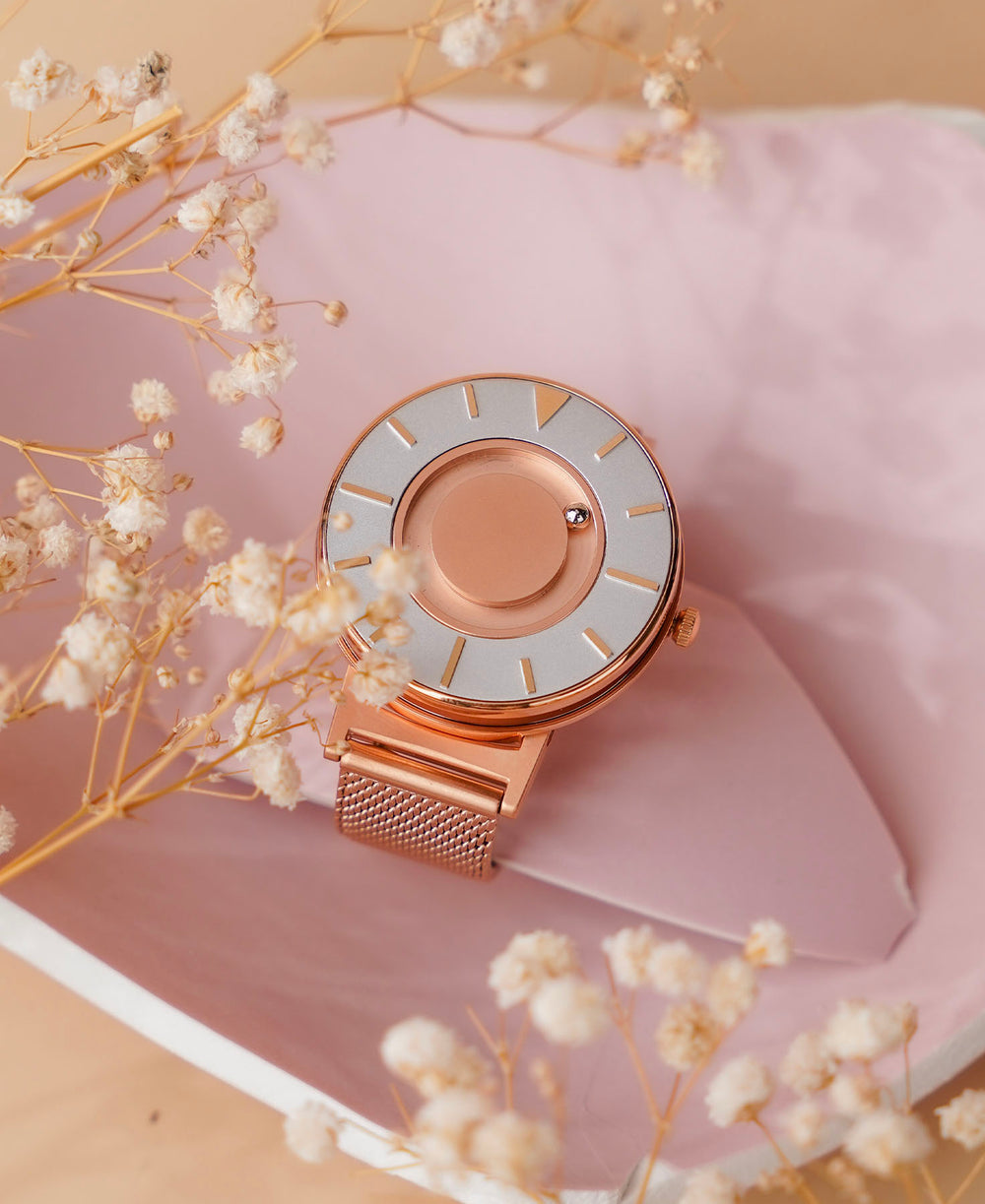 Bradley Mesh Rose Gold 36mm