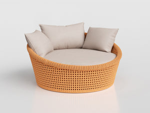 4608 - Mesh Chaise Compact