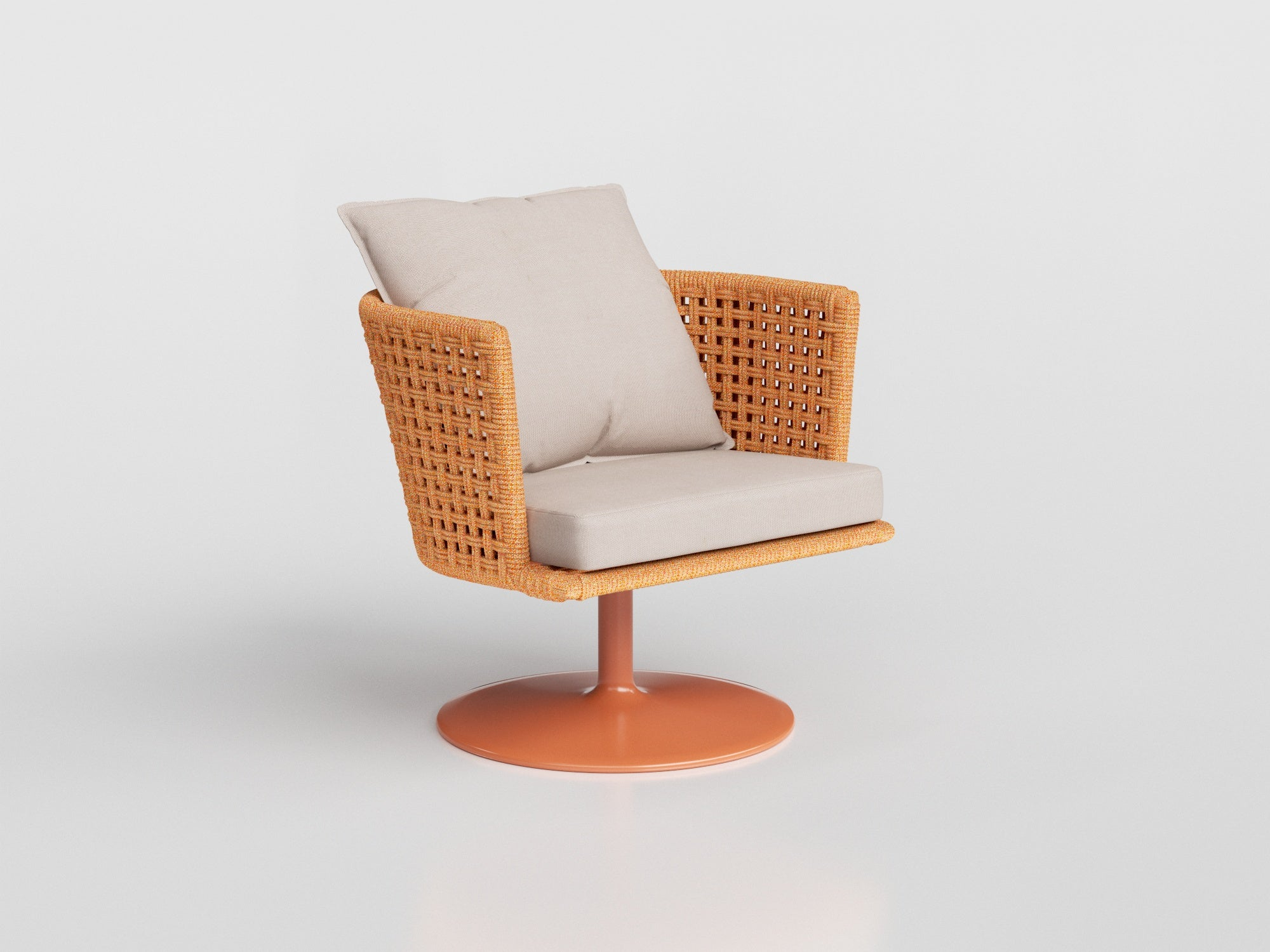 4620 - Mesh Swivel Lounge Chair