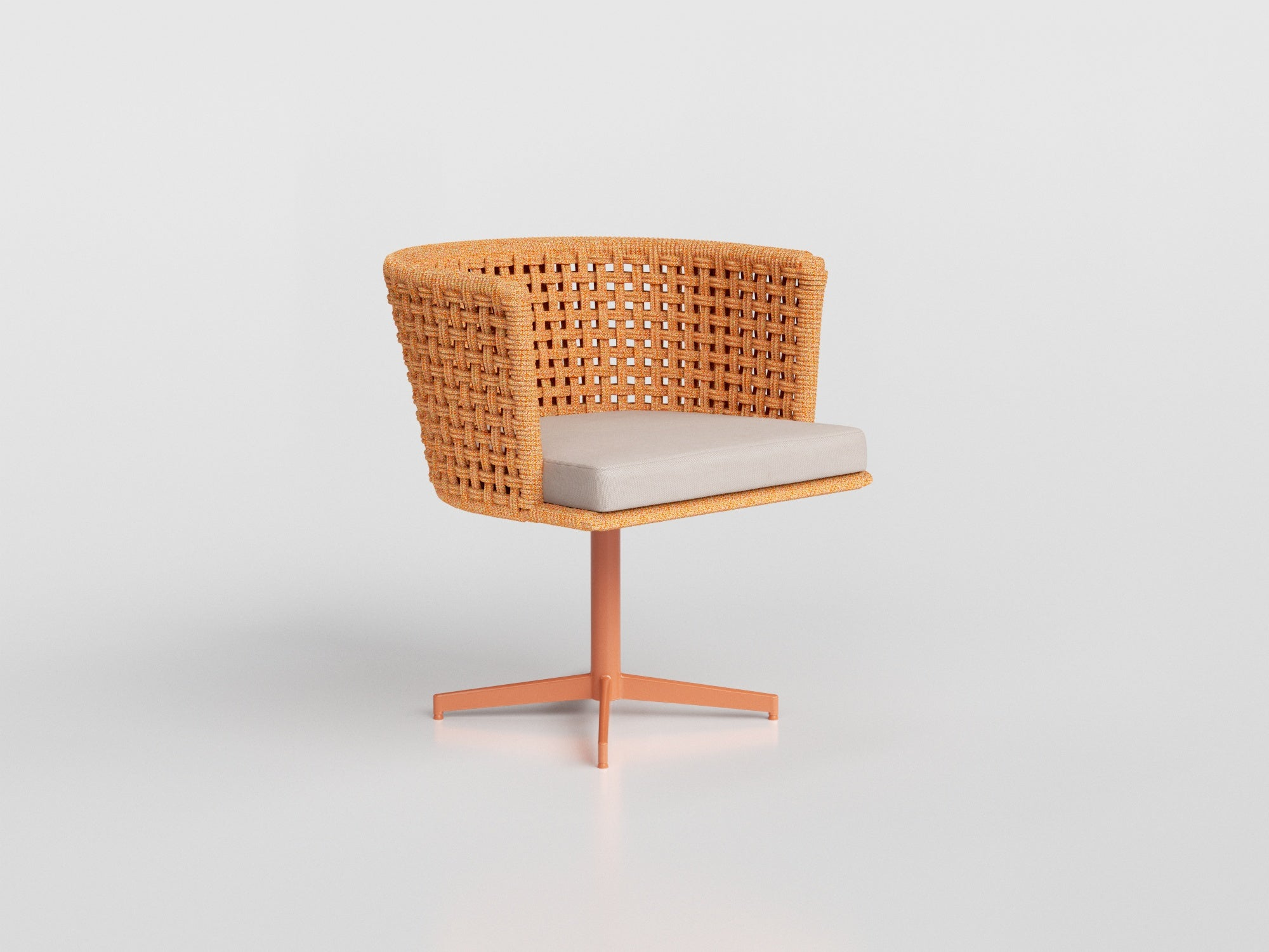 4621 - Mesh Swivel Chair