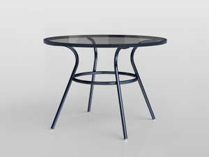5403V - Marina Table ø100 cm - Glass