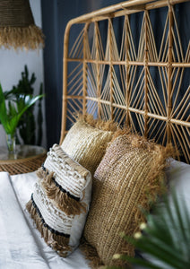 Rattan Bed Boho Bedroom Home Decor Package
