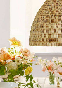 Jenner Rattan Pendant Light