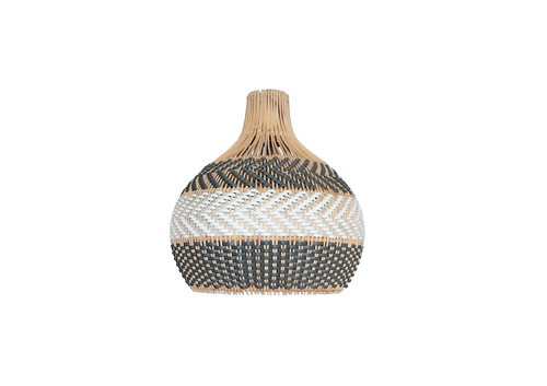 Serena Grey rattan pendant light. Anyone in need of some home jewelry? Then this dark grey rattan pendant light is a match! With ultimate gray of Pantone 2021 in mind, I designed this with a little bit darker with the same tone. The natural rattan will still maintain the neutral theme of the interior design. Visit shopmybaliliving.com for more rattan seagrass light.