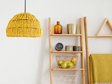 Load image into Gallery viewer, How to Decorating With Emily Yellow Earth Tones Pendant Light